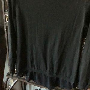 Fred David Sweaters - Black sparkly sweater